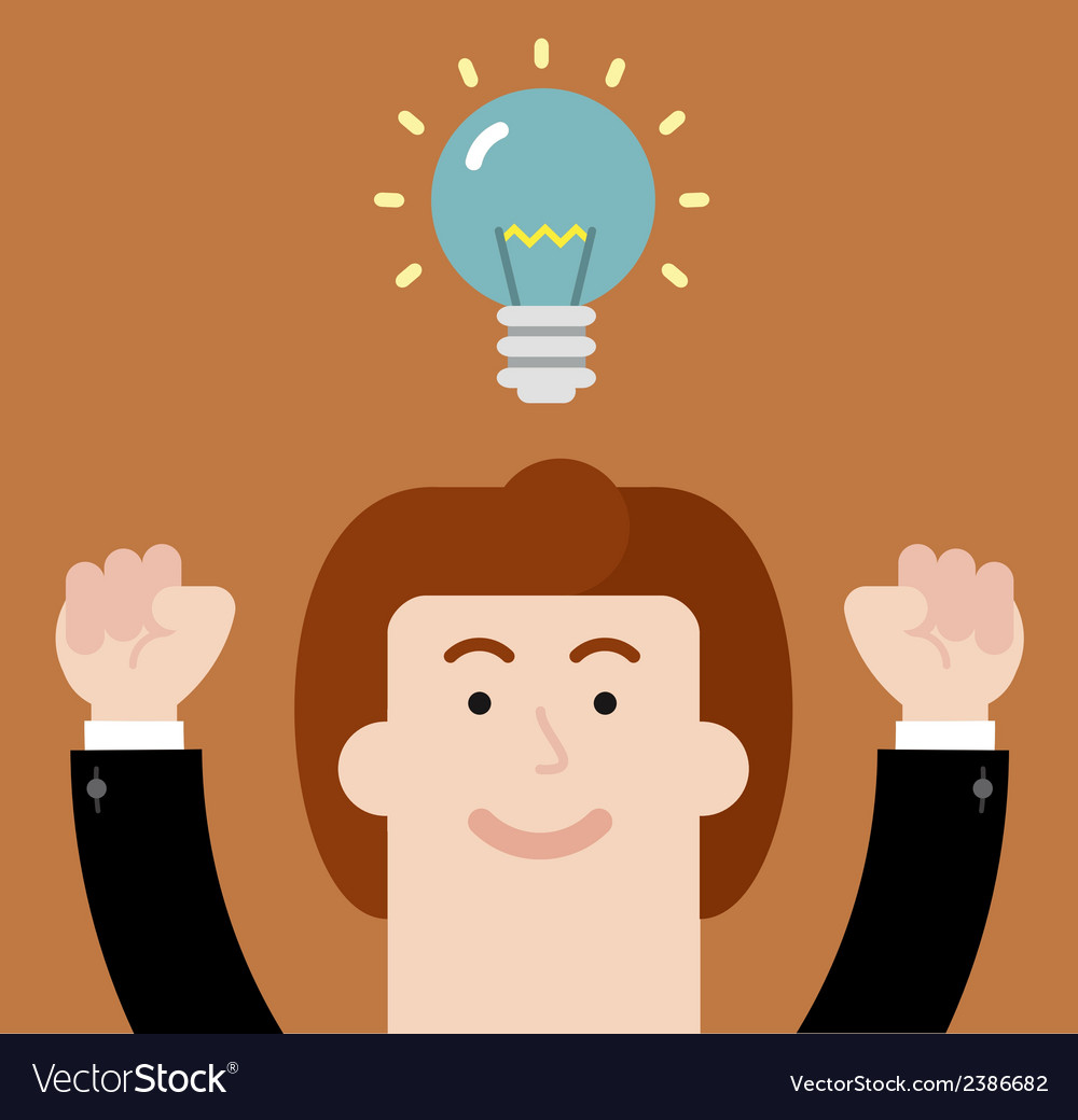Got an idea vector | Price: 1 Credit (USD $1)