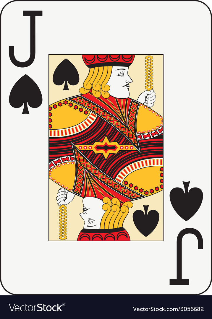 Jumbo index jack of spades vector | Price: 1 Credit (USD $1)
