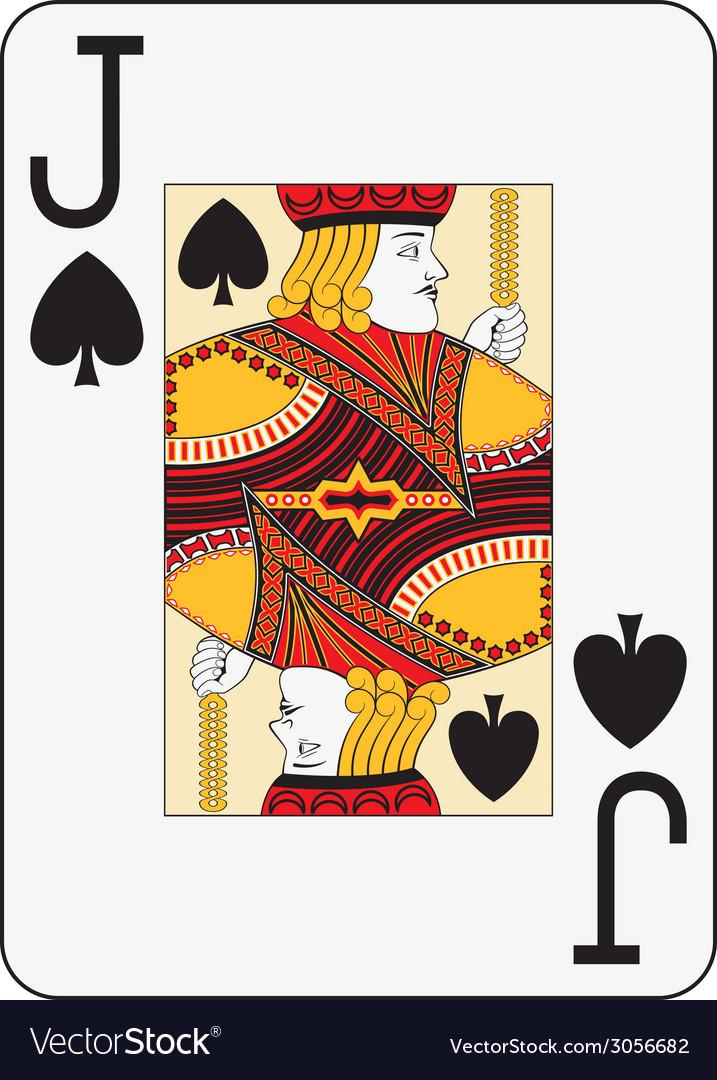 Jumbo index jack of spades vector | Price: 1 Credit (USD $1)