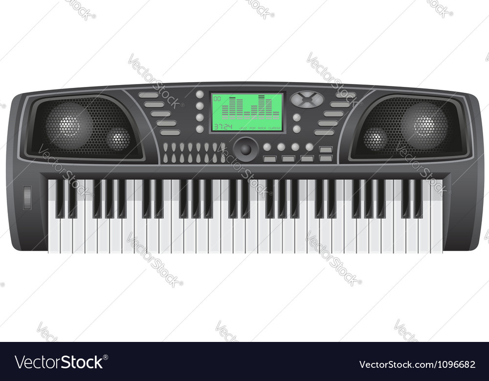Synthesizer 01 vector | Price: 1 Credit (USD $1)