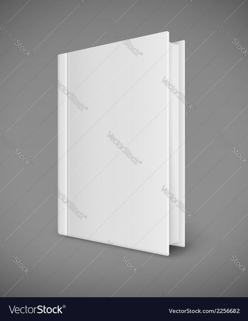 White book template with vector | Price: 1 Credit (USD $1)