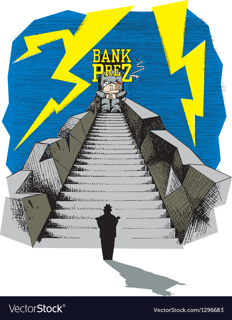 Bank president vector | Price: 1 Credit (USD $1)