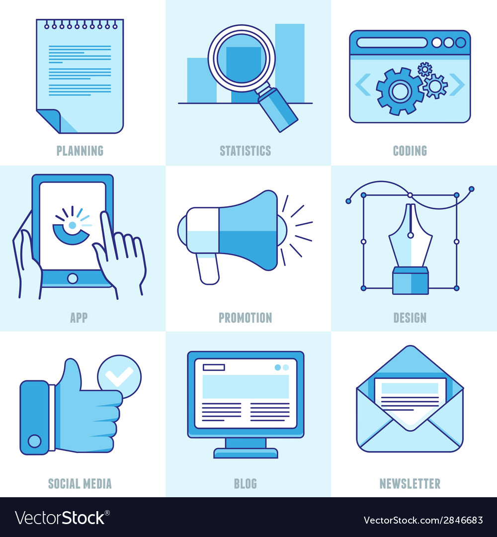 Internet business infographic design elements vector | Price: 1 Credit (USD $1)