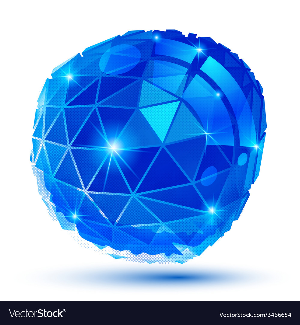 Plastic grain dimensional object created from vector | Price: 1 Credit (USD $1)
