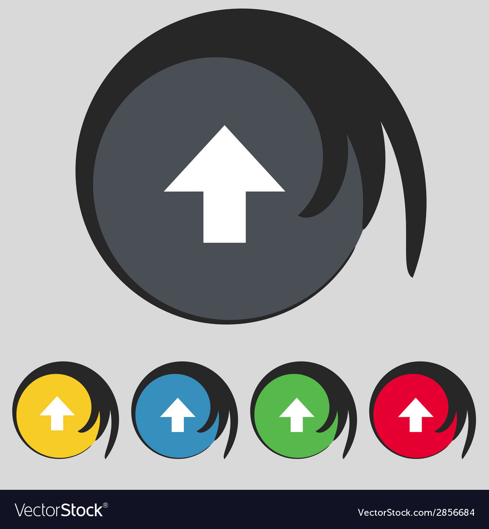This side up sign icon fragile package symbol set vector   Price: 1 Credit (USD $1)