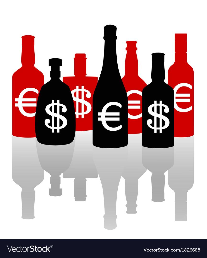 Alcoholism vector | Price: 1 Credit (USD $1)