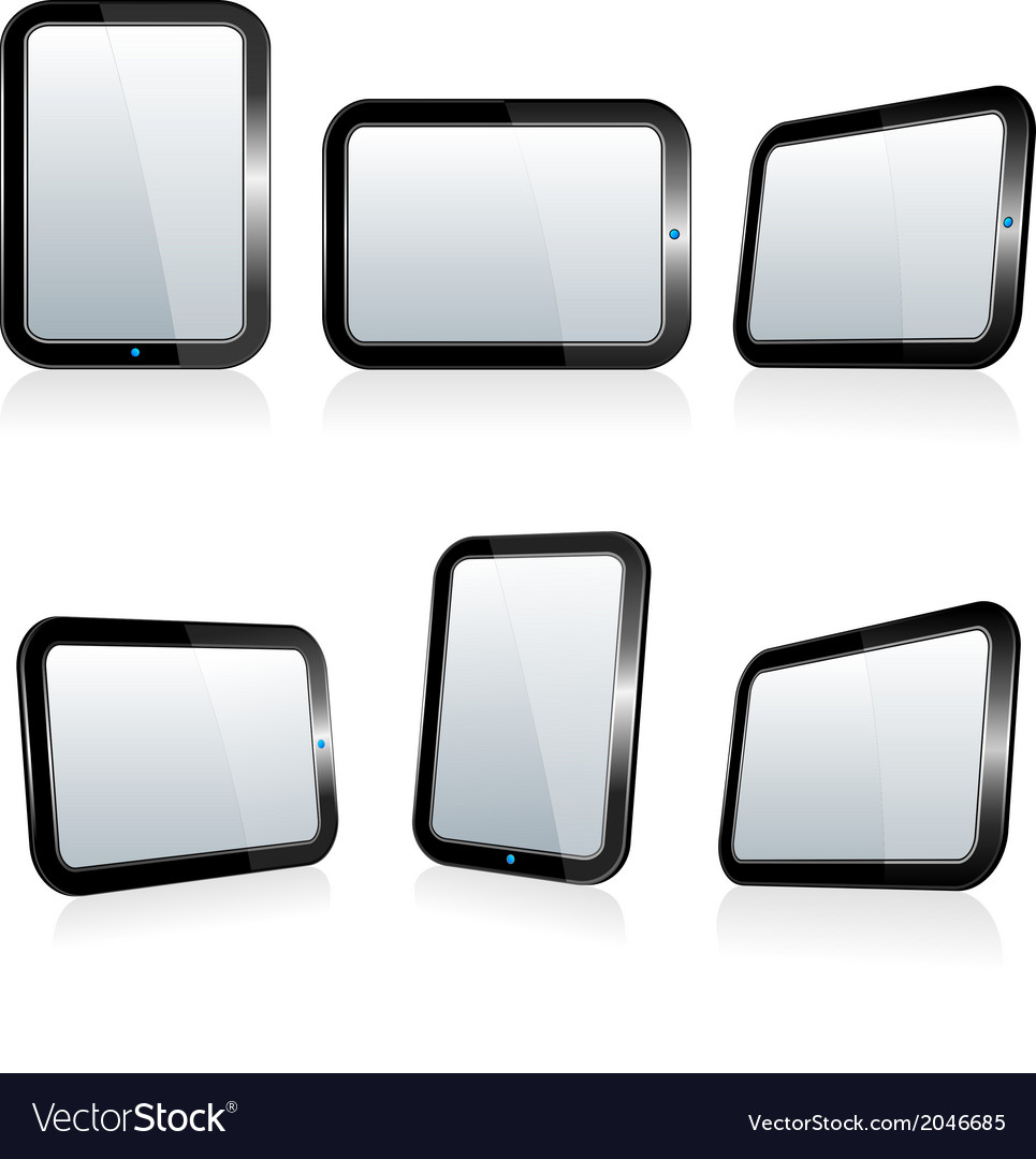Large tablets pads vector | Price: 1 Credit (USD $1)