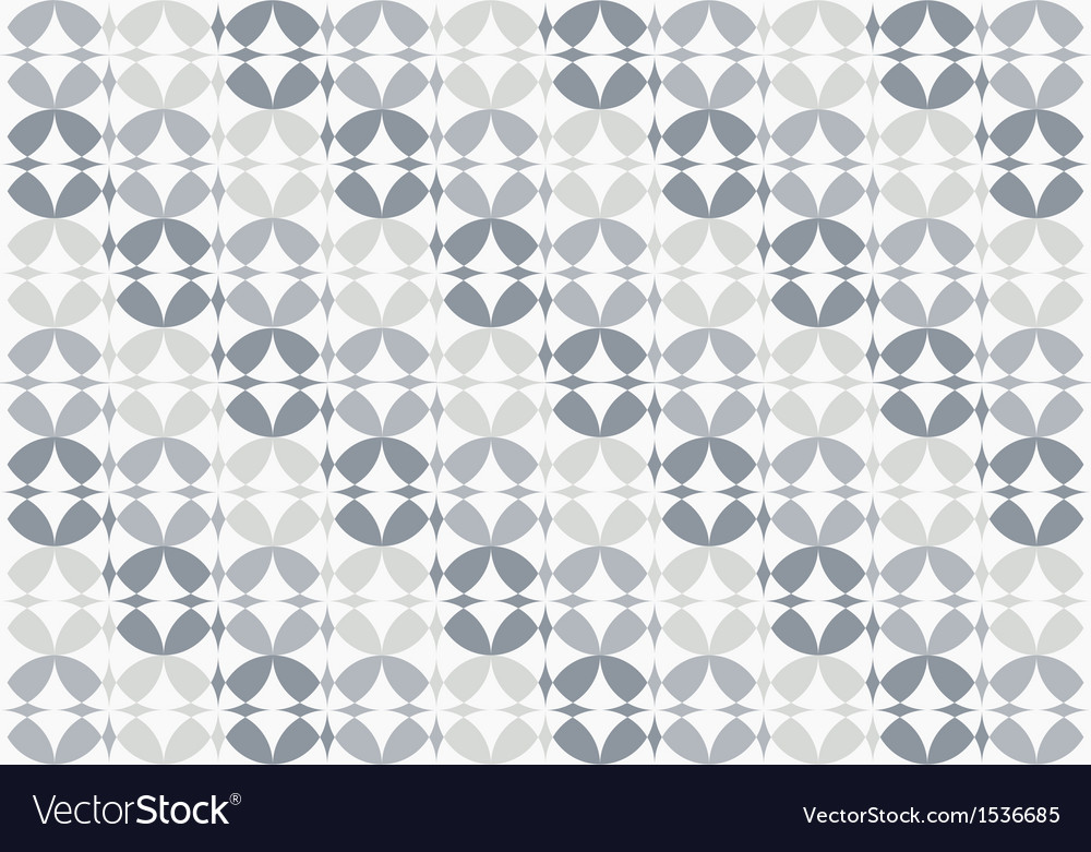 Silver infinity circles seamless pattern vector | Price: 1 Credit (USD $1)