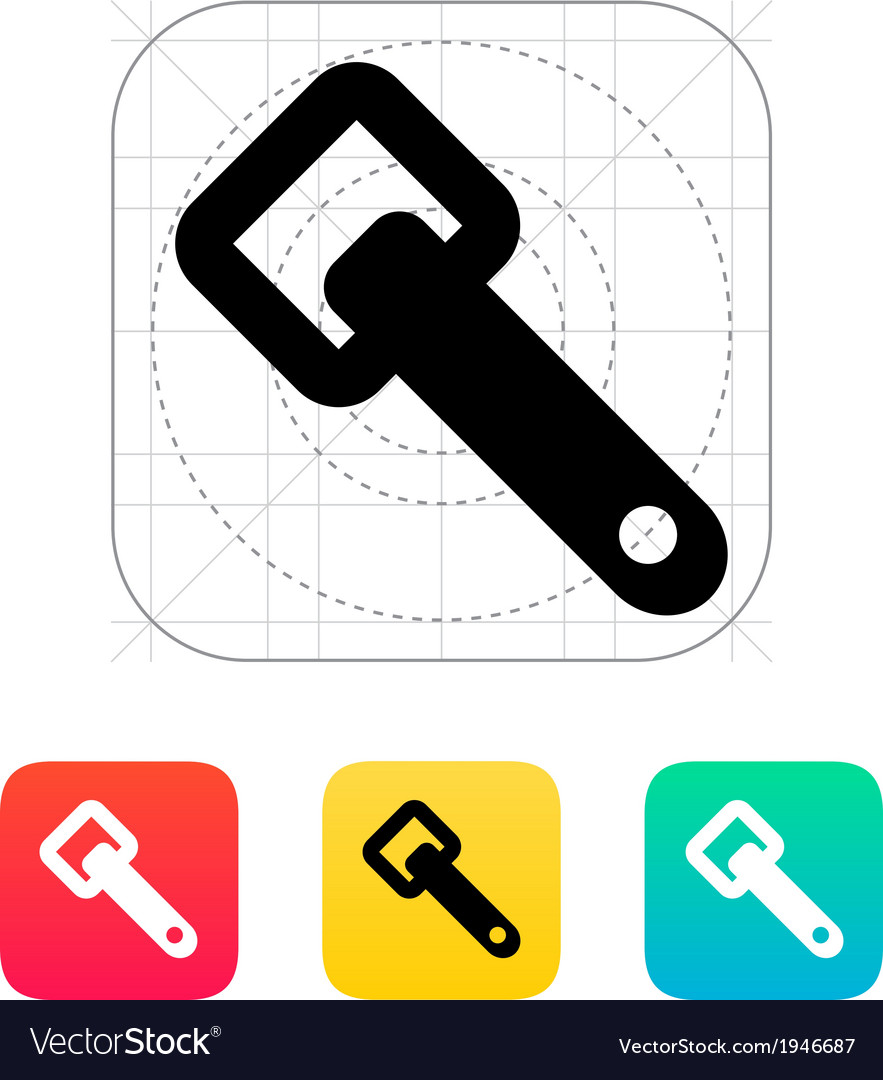 Bottle opener icon vector | Price: 1 Credit (USD $1)