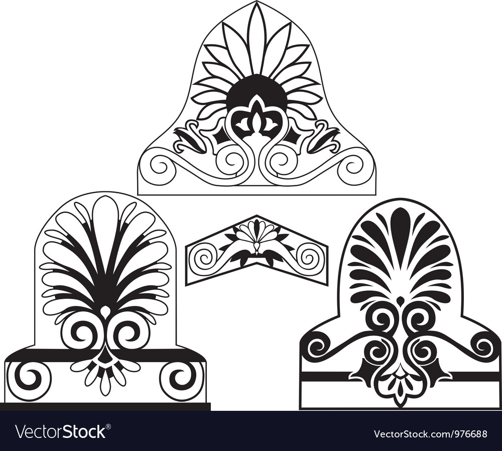 Architectural stencil vector | Price: 1 Credit (USD $1)