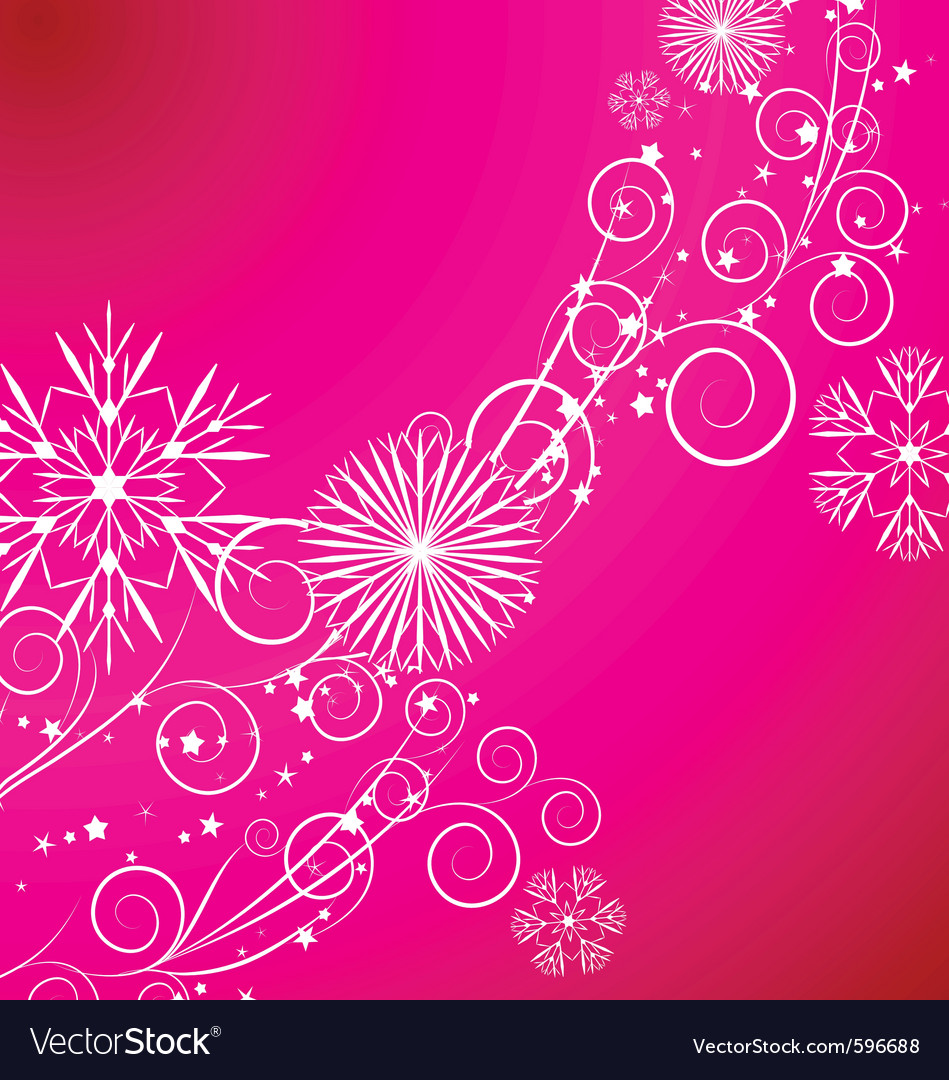 Christmas snowflake vector | Price: 1 Credit (USD $1)