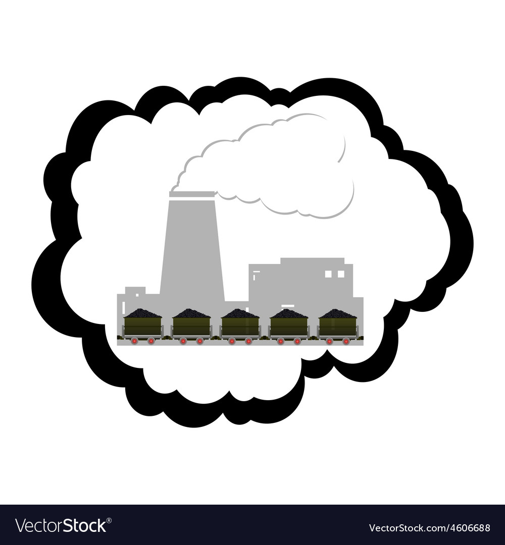 Coal industry vector | Price: 1 Credit (USD $1)