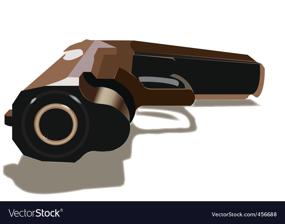 Gun vector | Price: 1 Credit (USD $1)