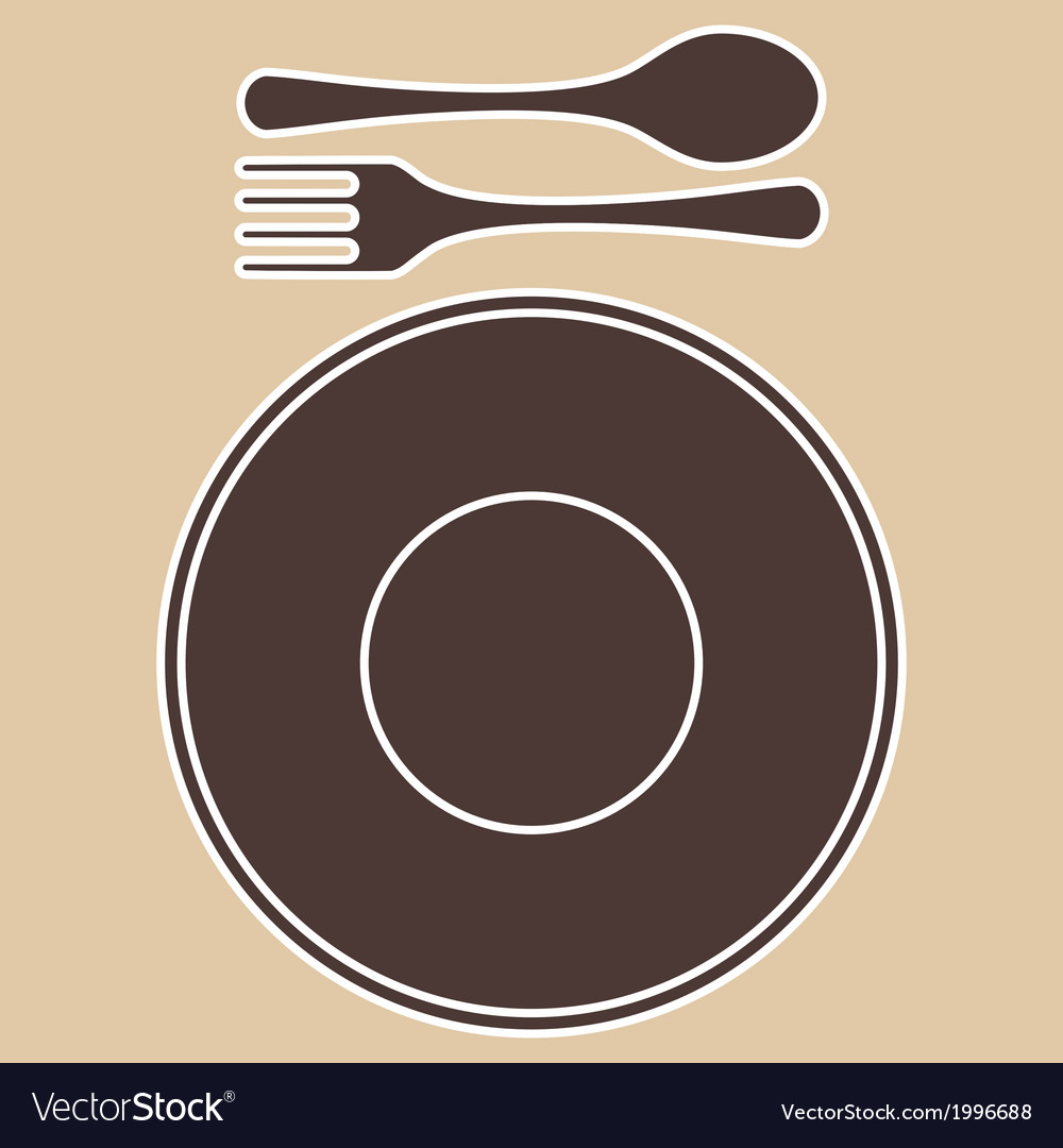 Plateforkspoon vector | Price: 1 Credit (USD $1)
