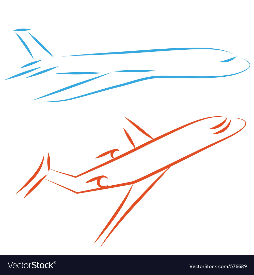 Airline icon vector | Price: 1 Credit (USD $1)