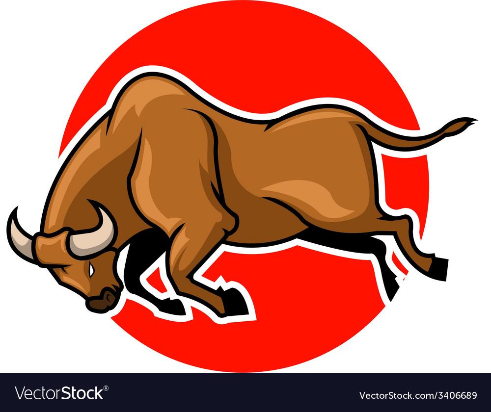 Bulls vector | Price: 3 Credit (USD $3)