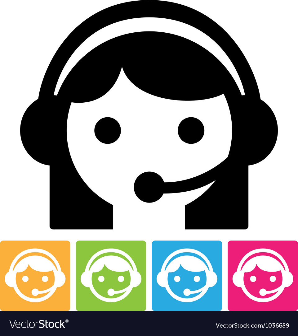 Call center icon vector | Price: 1 Credit (USD $1)