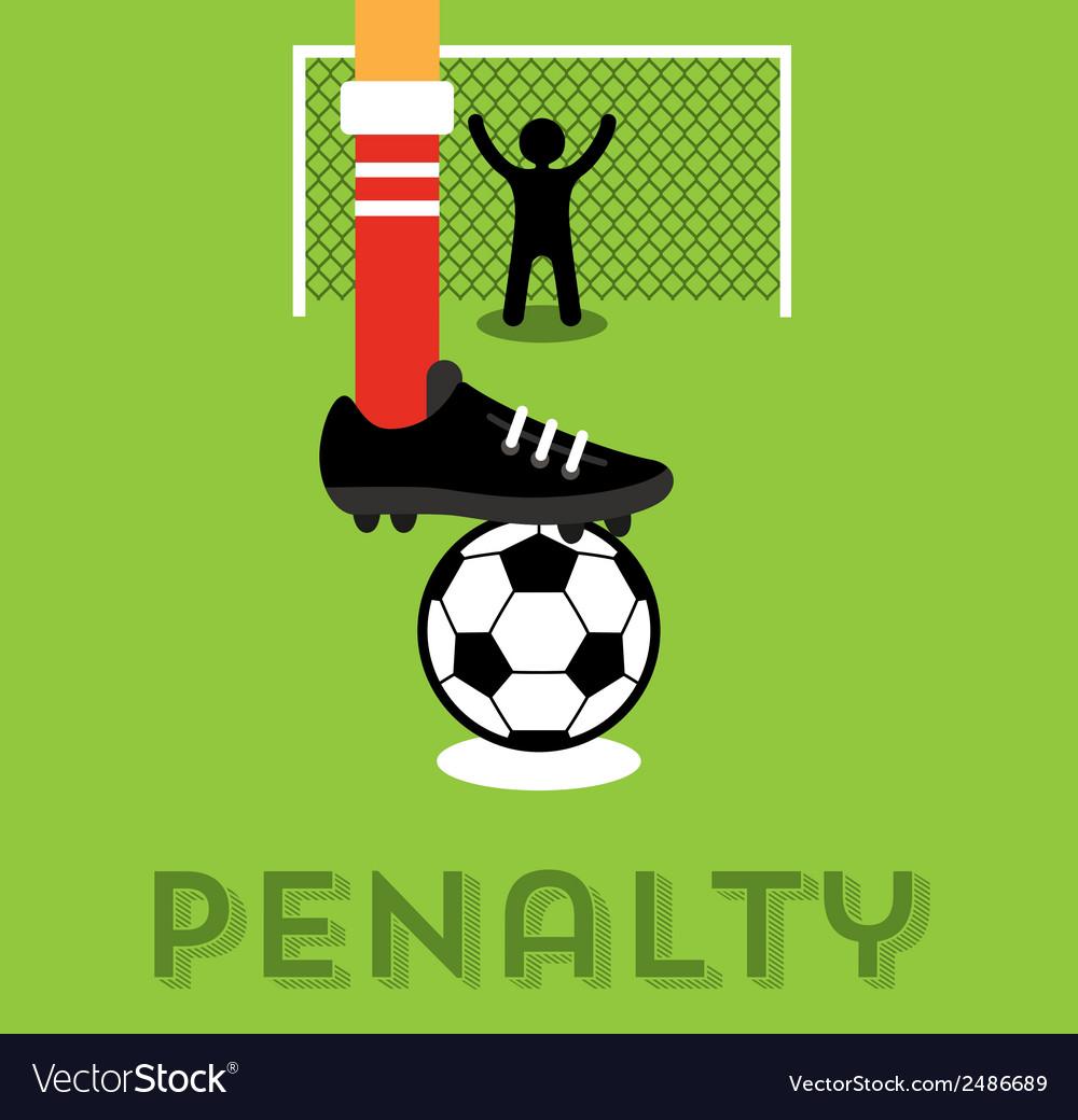 Penalty taker vector
