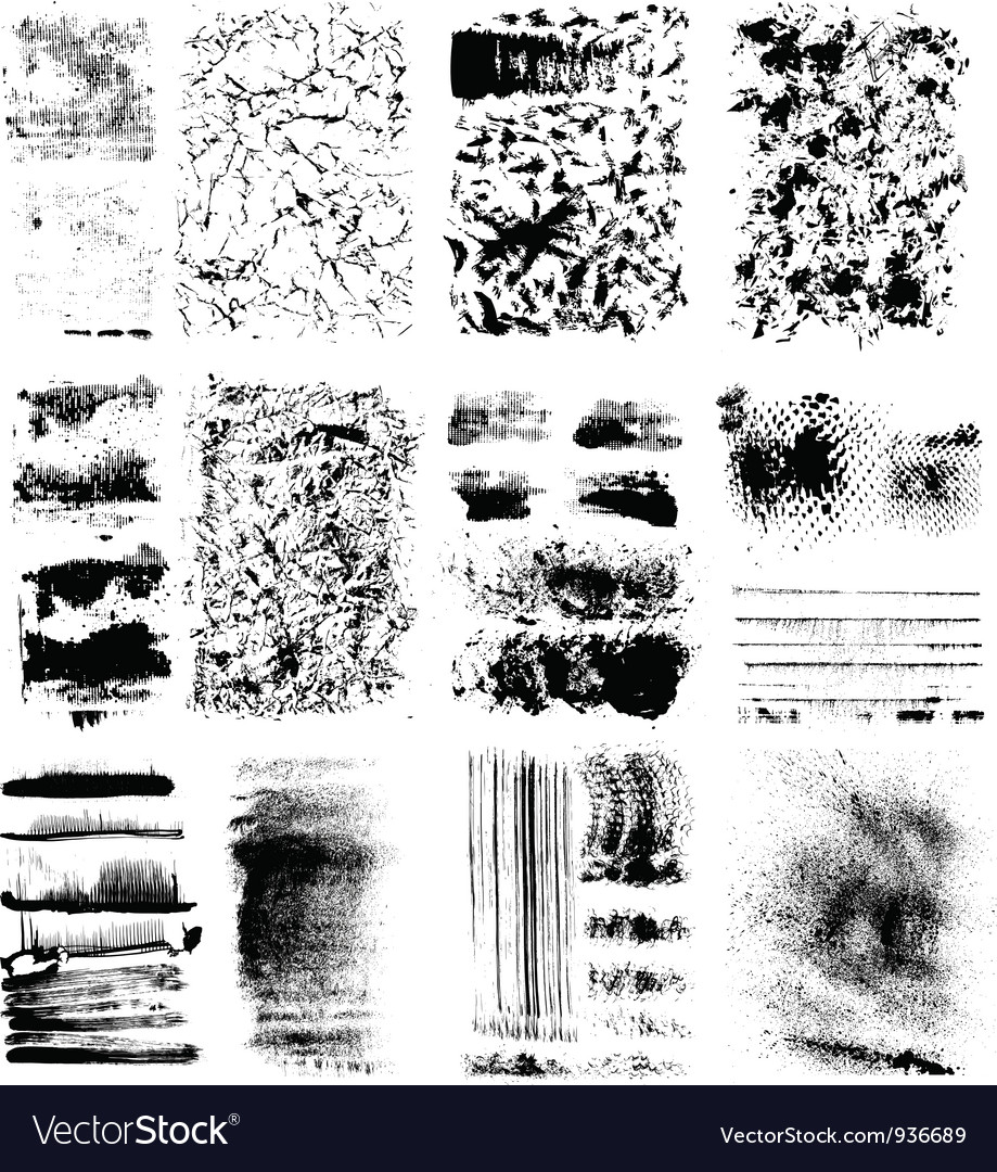 Set of textures vector | Price: 1 Credit (USD $1)