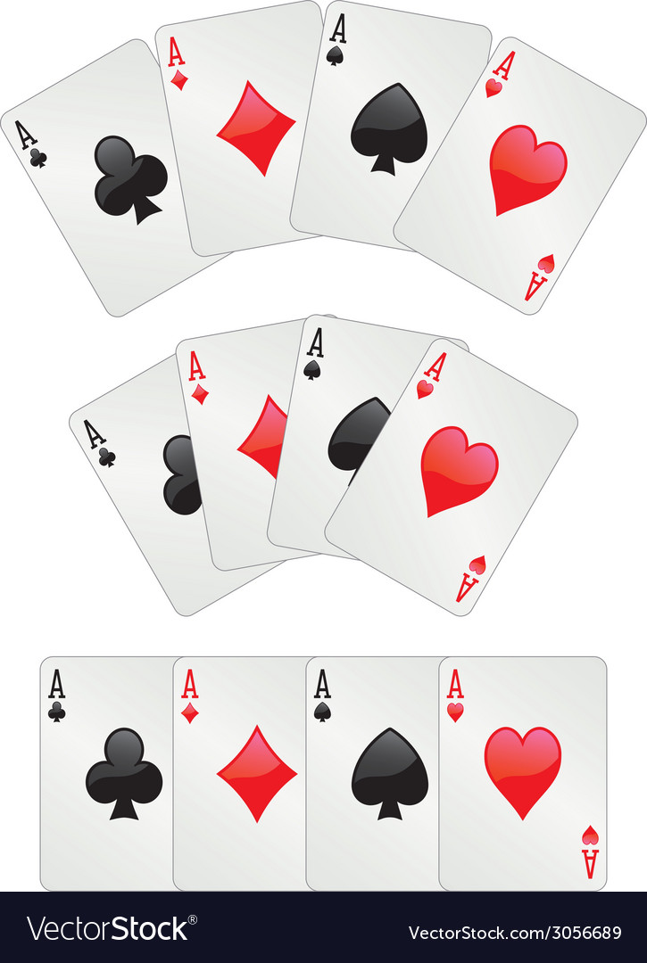 Three aces poker vector | Price: 1 Credit (USD $1)