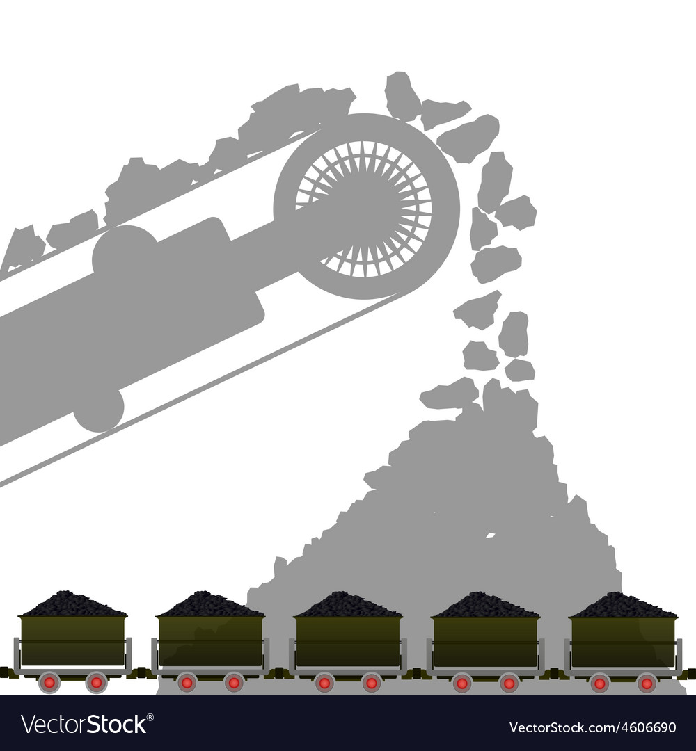 Coal industry 1 vector | Price: 1 Credit (USD $1)