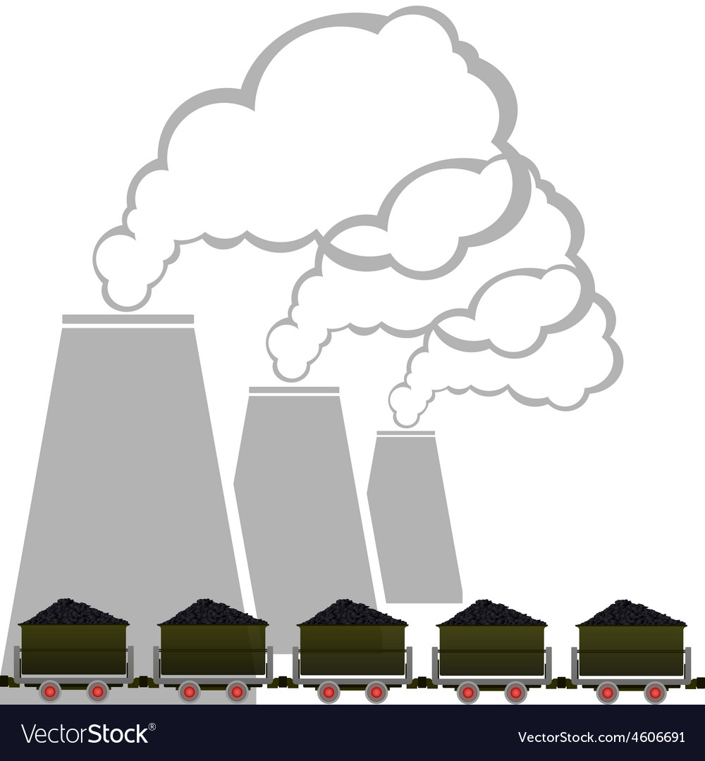 Coal industry 2 vector | Price: 1 Credit (USD $1)