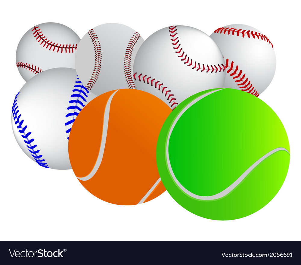Different balls vector | Price: 1 Credit (USD $1)