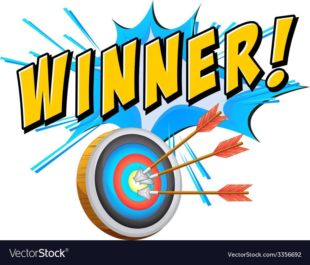 Winner vector   Price: 1 Credit (USD $1)