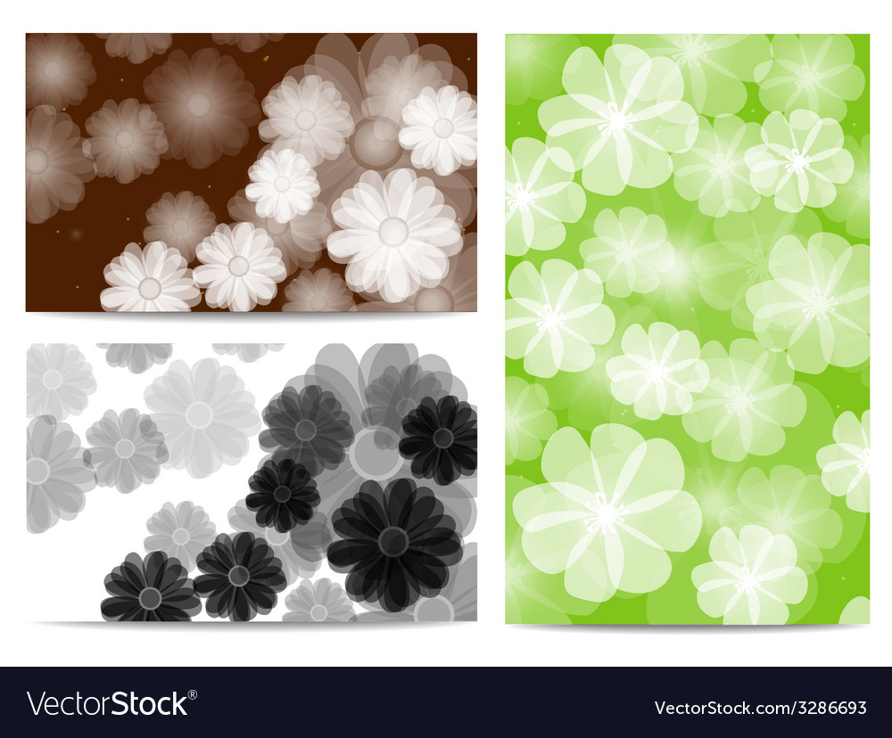 Abstract flora background vector | Price: 1 Credit (USD $1)