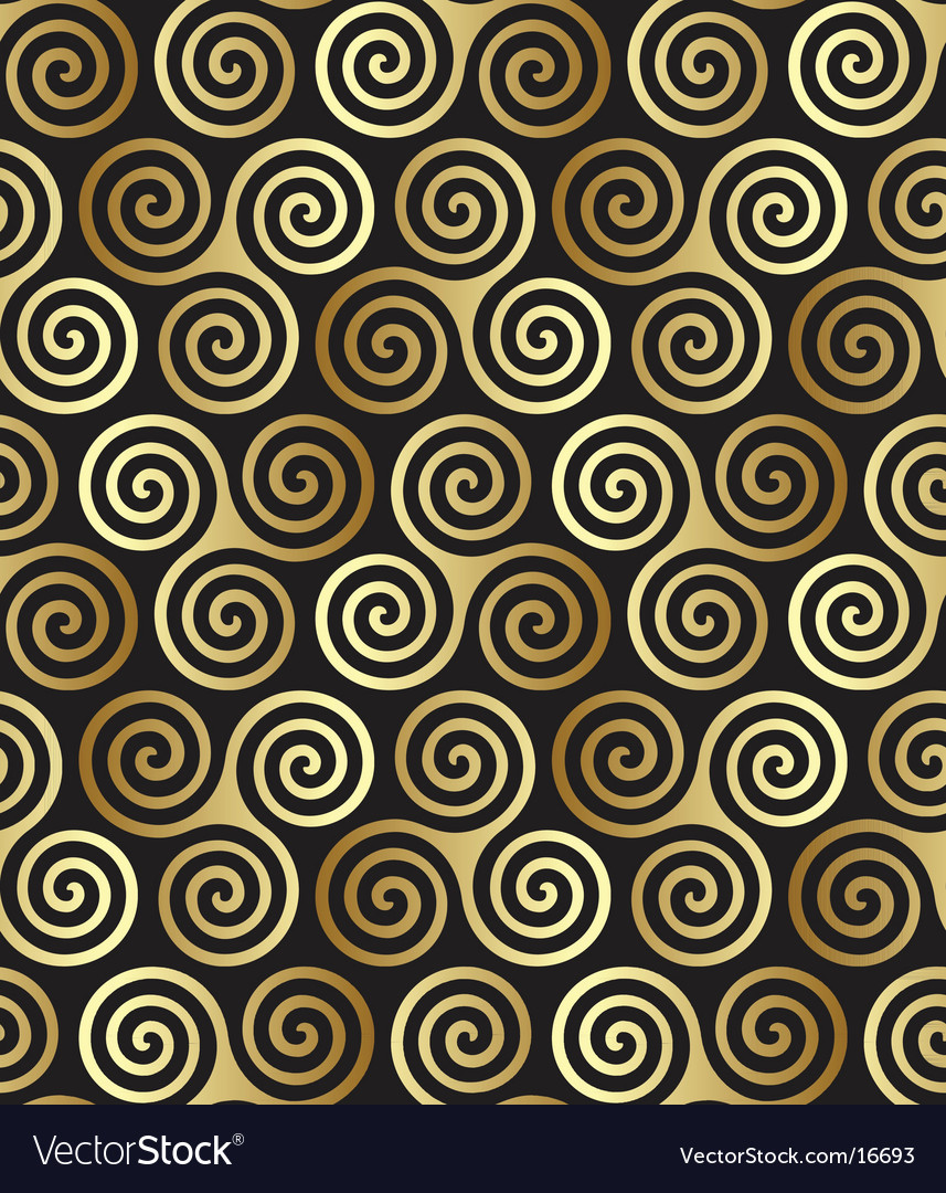 Celtic spiral pattern vector | Price: 1 Credit (USD $1)
