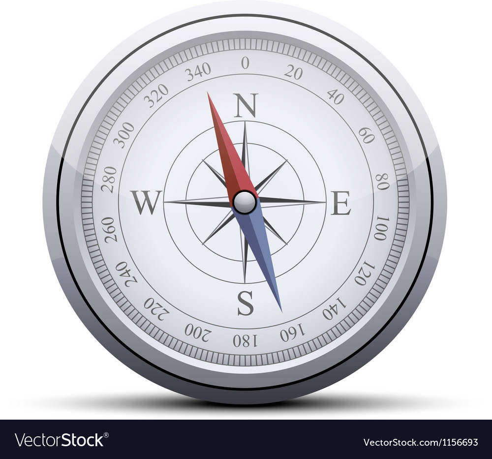 Compass icon vector | Price: 1 Credit (USD $1)