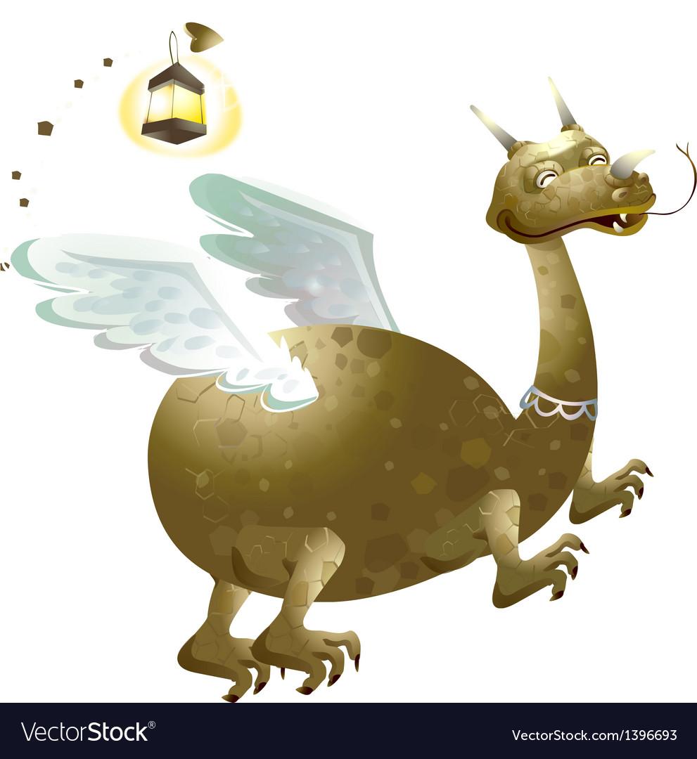 Icon dragon vector | Price: 3 Credit (USD $3)