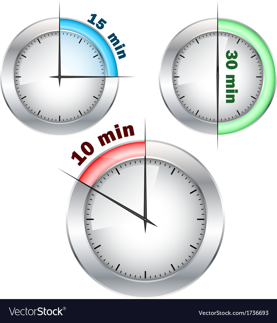 Office clocks vector   Price: 1 Credit (USD $1)