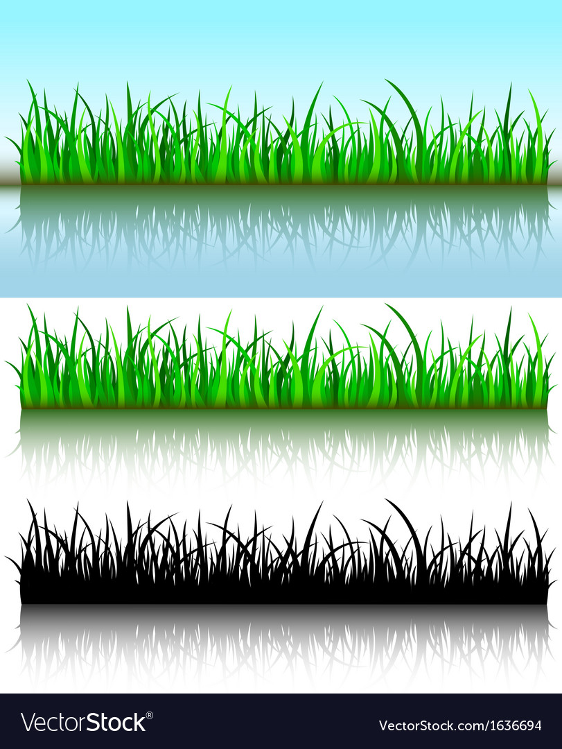 Grass brushes vector | Price: 1 Credit (USD $1)