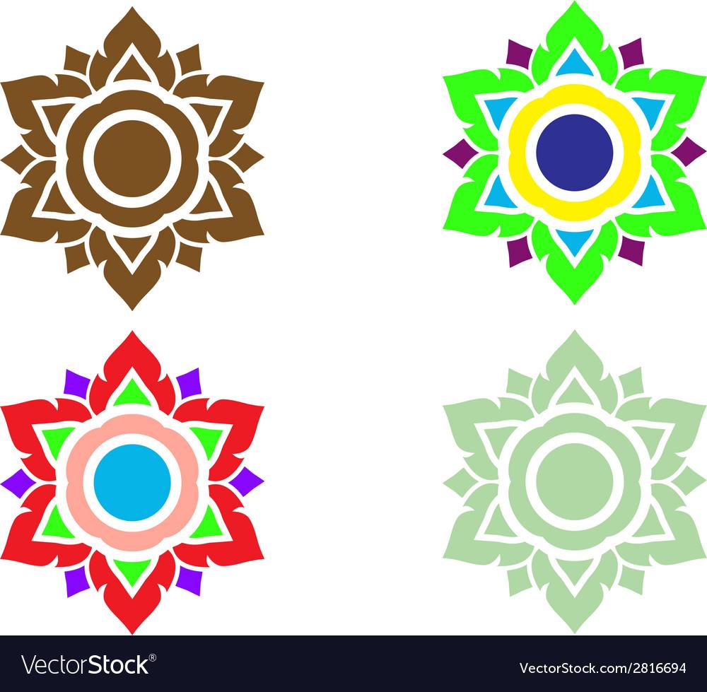 Thai pattern art vector | Price: 1 Credit (USD $1)