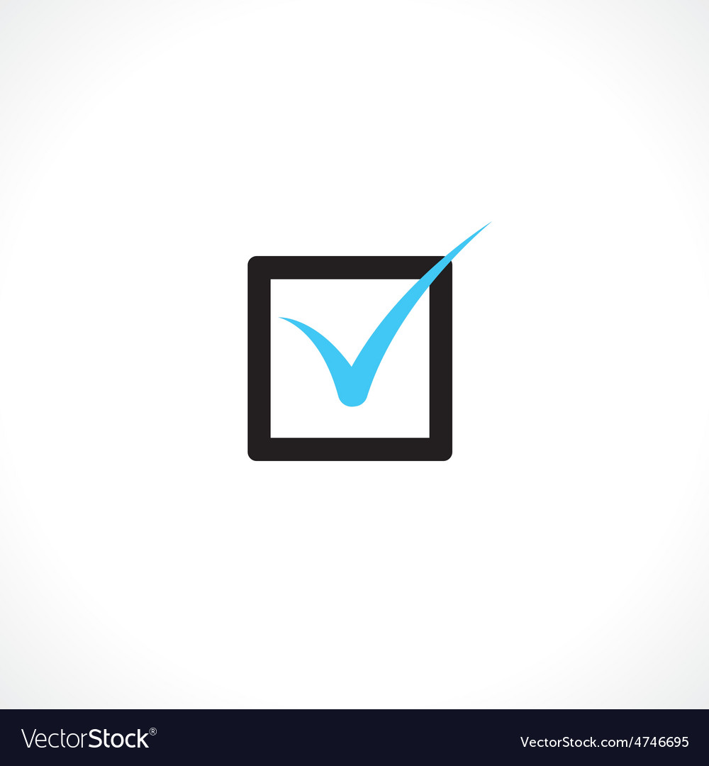 Checkbox vector | Price: 1 Credit (USD $1)