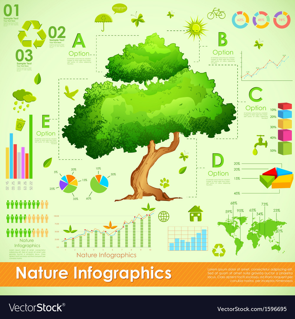 Environmental infographic vector | Price: 1 Credit (USD $1)