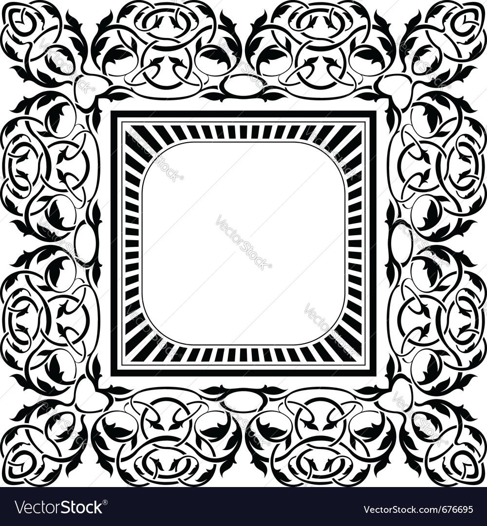 Ornamental border vector   Price: 1 Credit (USD $1)