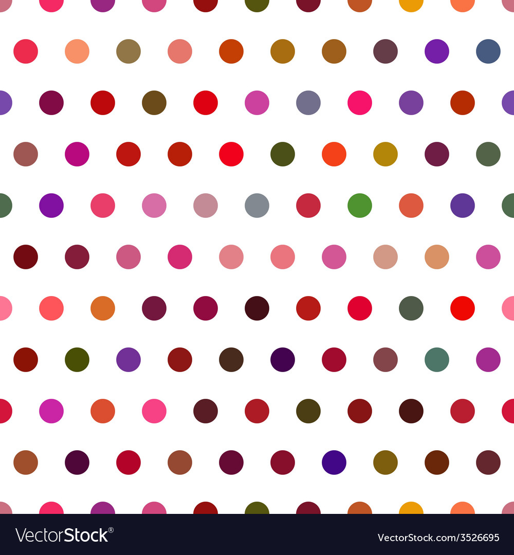 Seamless dot vector | Price: 1 Credit (USD $1)