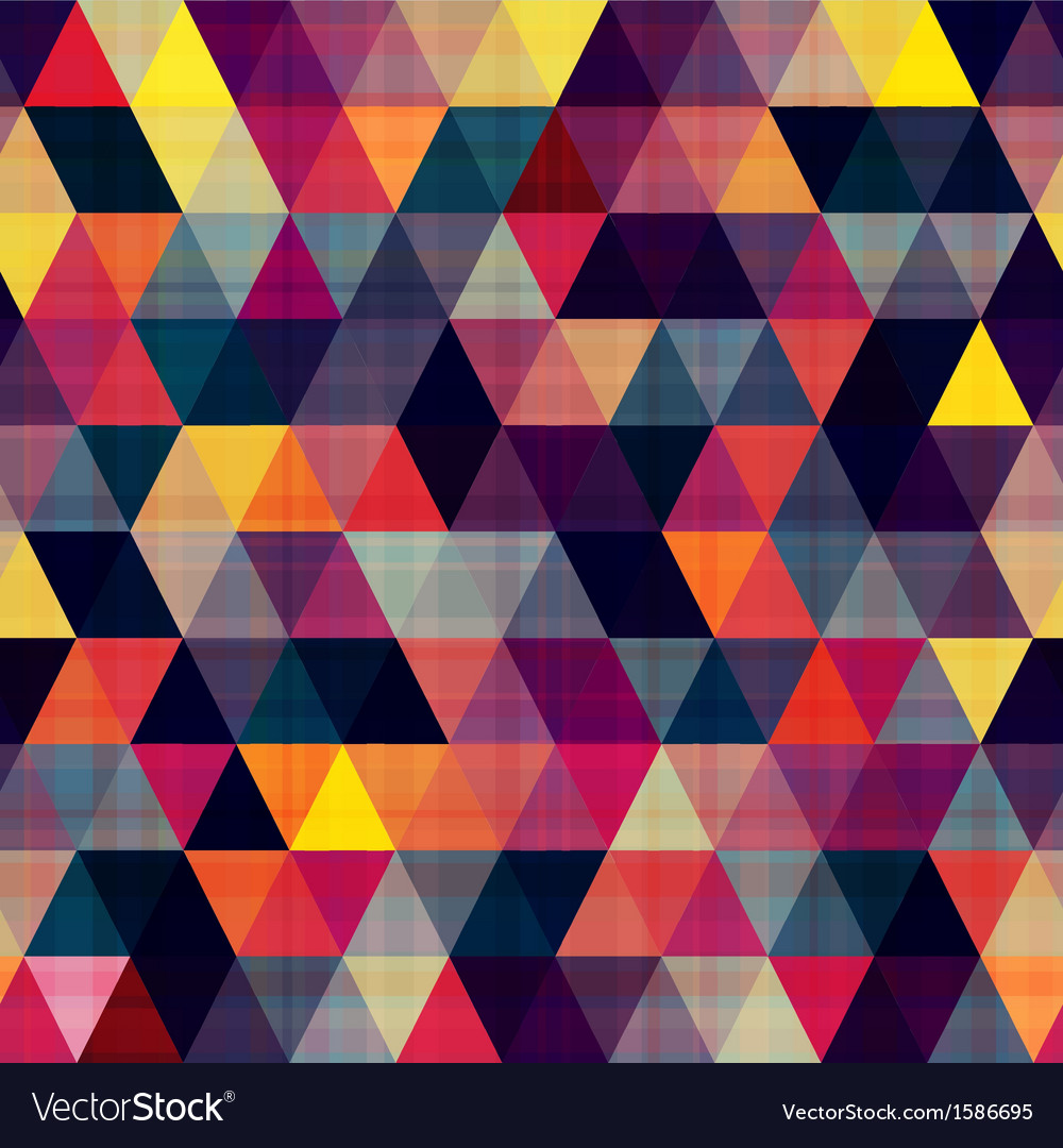 Seamless triangle pattern texture vector | Price: 1 Credit (USD $1)