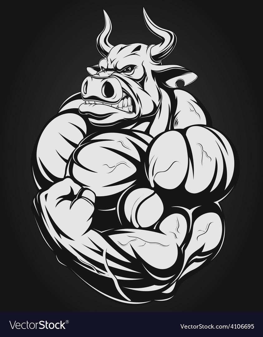 Strong bull vector   Price: 3 Credit (USD $3)