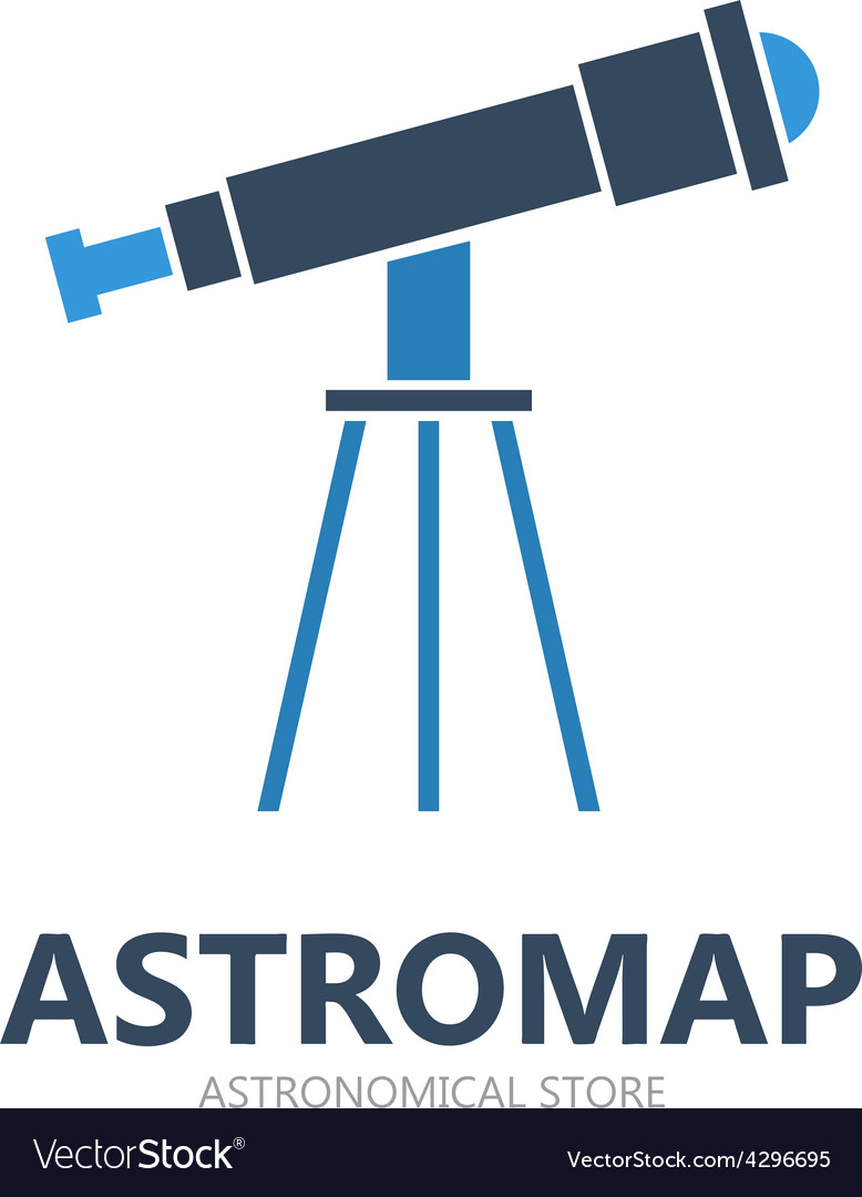 Telescope logo or symbol icon vector | Price: 1 Credit (USD $1)
