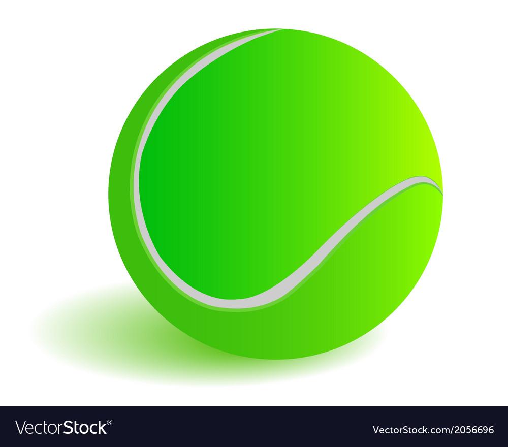 Green ball vector | Price: 1 Credit (USD $1)
