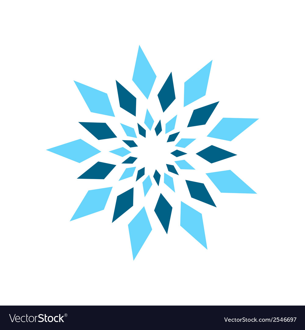Abstract crystal sign vector | Price: 1 Credit (USD $1)