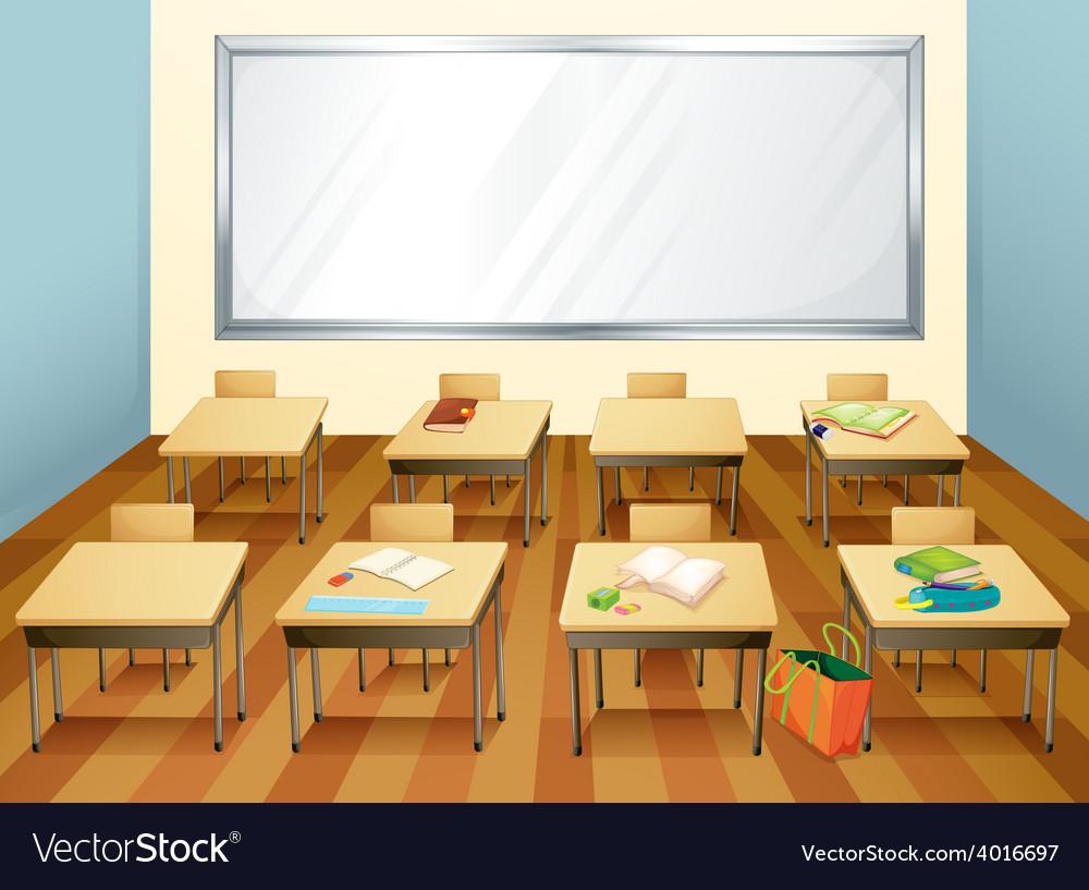 Classroom vector | Price: 3 Credit (USD $3)