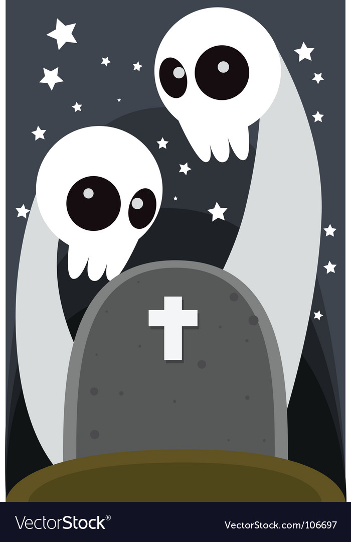Ghost grave vector | Price: 1 Credit (USD $1)