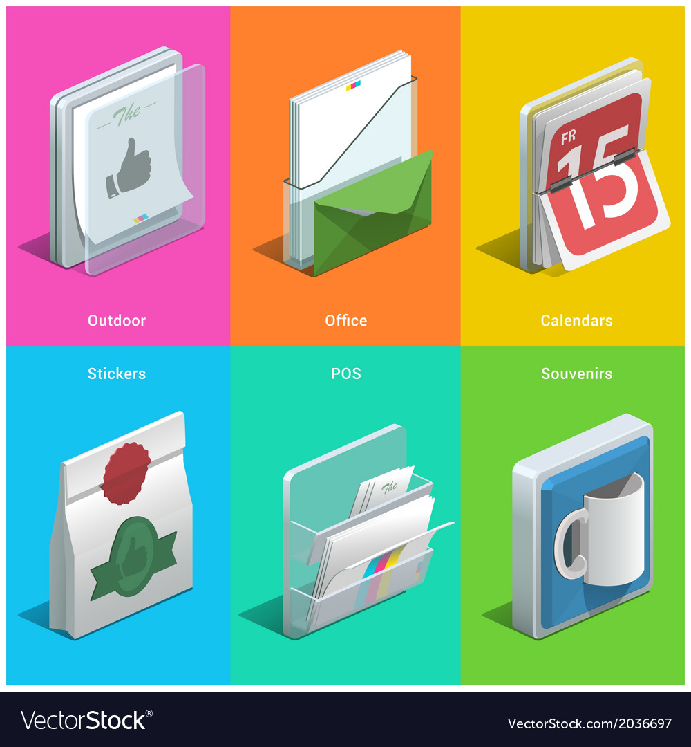 Printing icons vector   Price: 1 Credit (USD $1)
