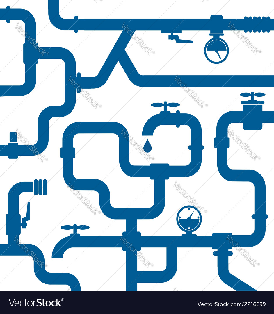 Background of water pipeline vector   Price: 1 Credit (USD $1)