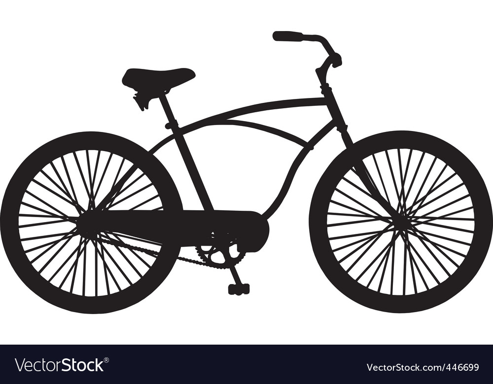 Cruiser bicycle vector | Price: 1 Credit (USD $1)