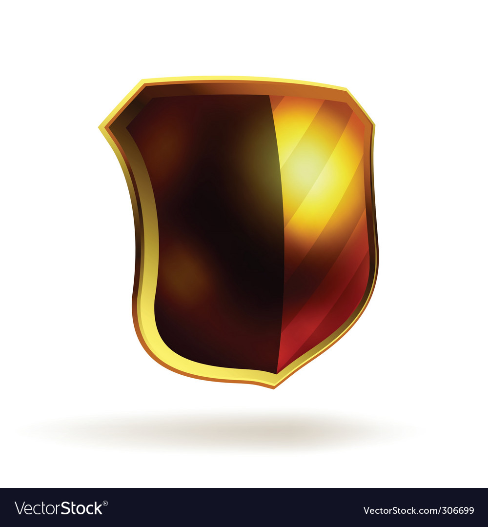 Shield template vector | Price: 1 Credit (USD $1)